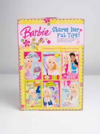 Barbie Cereal Back of pack